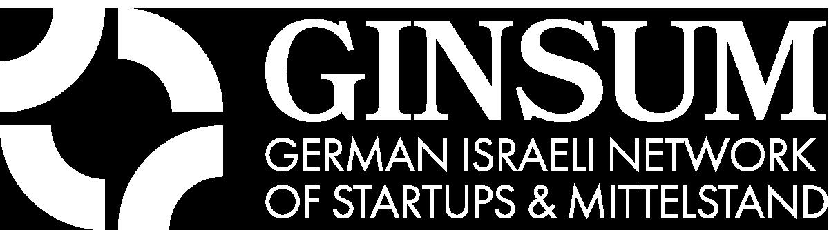 GINSUM Logo white