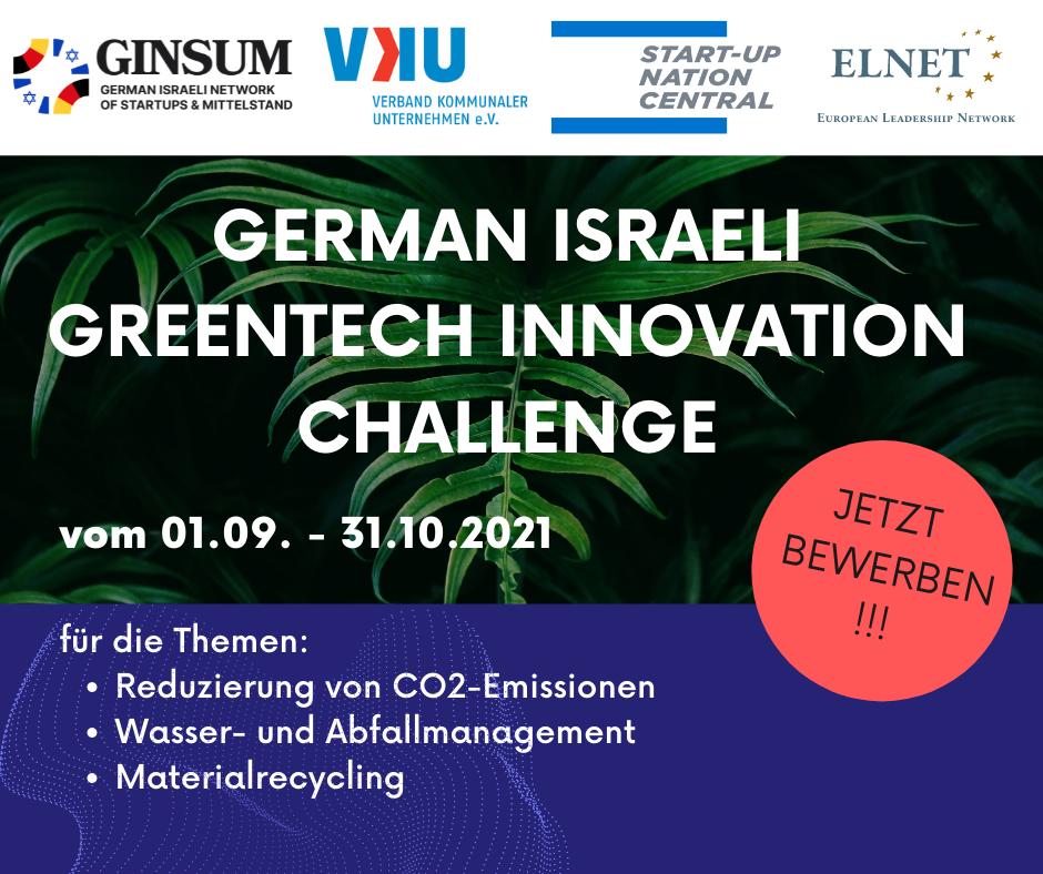 GreenTech Innovation Challenge